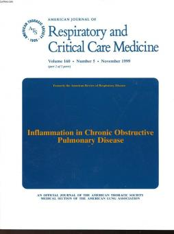 Respiratory and critical care medicine - volume 160 - n°5 - inflammation in chronic obstructive pulmonary disease