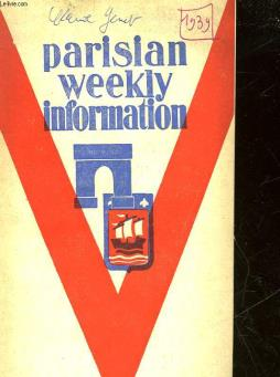 Parisian weekly information - n°503