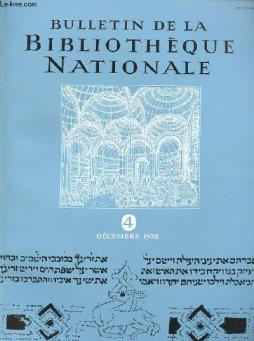 Bulletin de la bibliotheque nationale - 3° annee - n°4