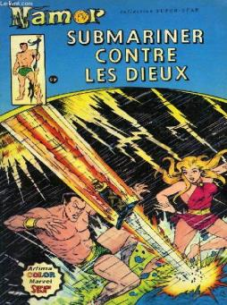 Album namor, submariner contre les dieux