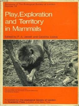 Play, exploration and territory in mammals