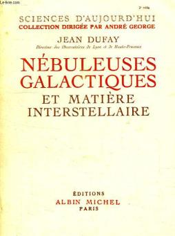 Nebuleuses galactiques et matiere interstellaire