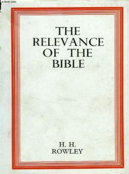 The relevance of the bible
