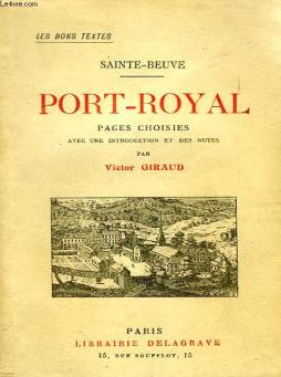 Port-royal, pages choisies