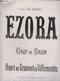 Ezora - galop de salon - op.11.