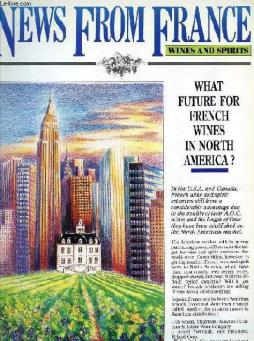 News from france, wines and spirits, n° 2, march 1988