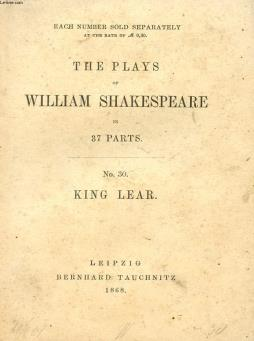 King lear (the plays of william shakespeare, n° 30)