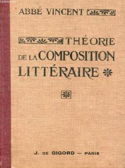 Theorie de la composition litteraire