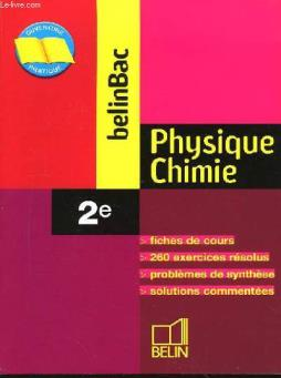 Belinbac physique chimie 2nde